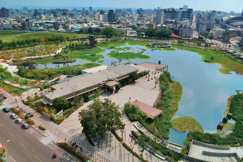 台中市政府爭取國漫館,帝國製糖廠台中營業所(星泉公園)是選址之一。(圖/台中市政府提供)