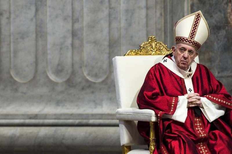 教廷對香港噤聲,疑似不想激怒中國而影響《主教任命協議》談判,圖為天主教教宗方濟各(AP)