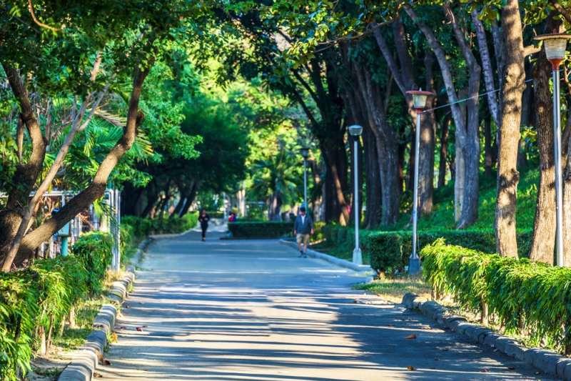 森活學的住戶可沿著500米園道串連萬坪健康公園,輕鬆享受芬多精。(圖/富比士地產王提供)