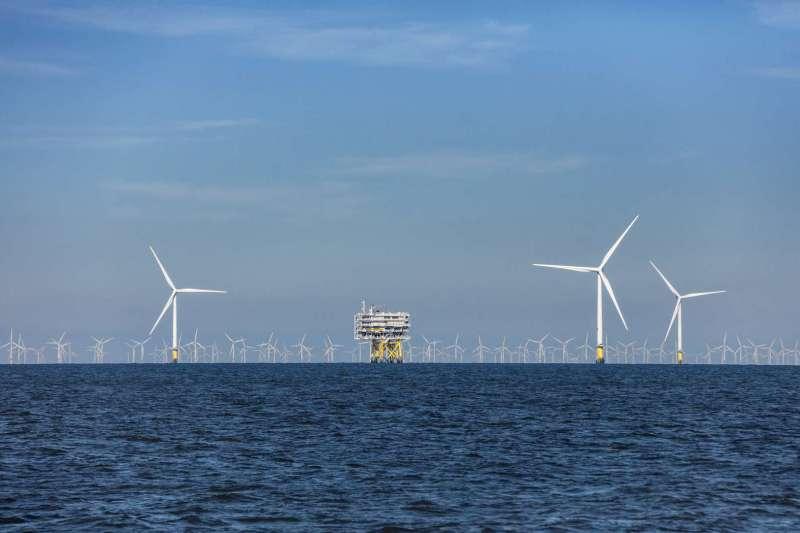 台積電正式與在台經營離岸風電的沃旭能源,簽署企業購售電契約。(沃旭能源提供)