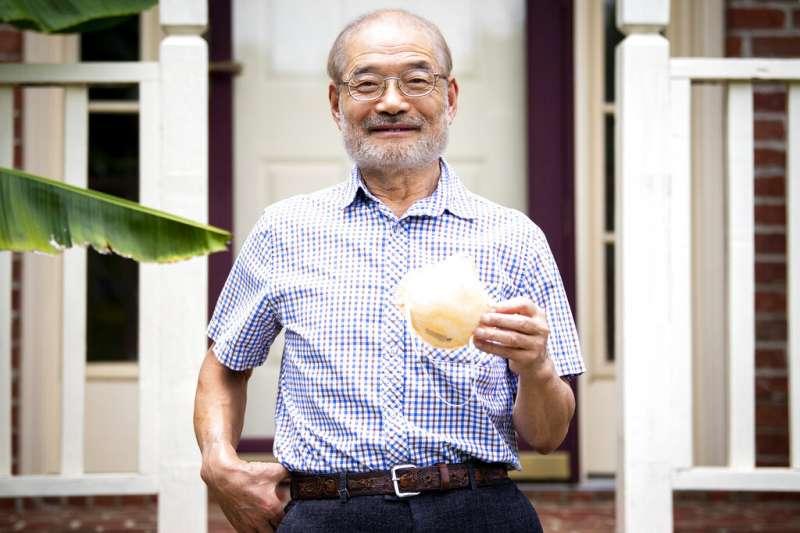 N95口罩發明者、來自台灣的蔡秉燚博士。(AP)