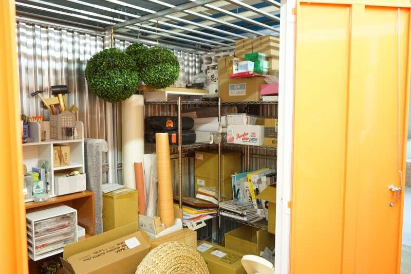 小空間大利用,24小時無死角監視器,個人倉庫概念讓物品有保障。(圖/摩爾空間提供)