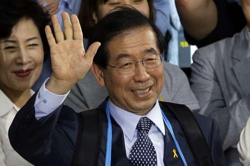 2020年7月9日,南韓首都首爾市長朴元淳(Park Won-soon)突然失蹤(AP)
