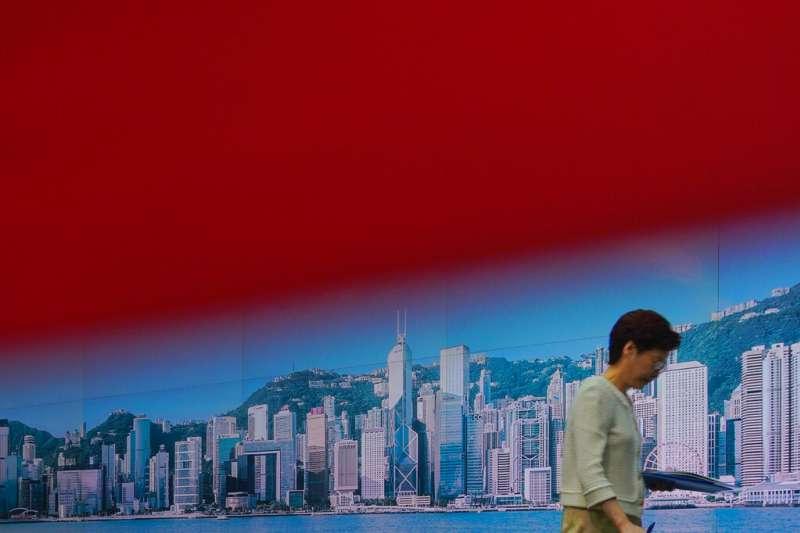 香港特首林鄭月娥。(美聯社)