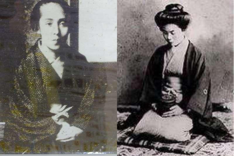 長尾郁子(左)與御船千鶴子都宣稱自己有千里眼。(圖/維基百科)