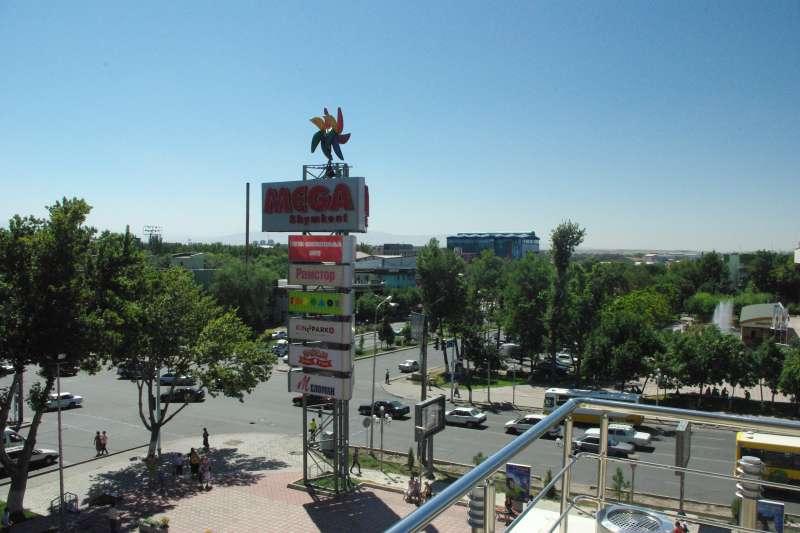 哈薩克大城希姆肯特(Shymkent)(Yorian@Wikipedia / CC BY-SA 3.0)