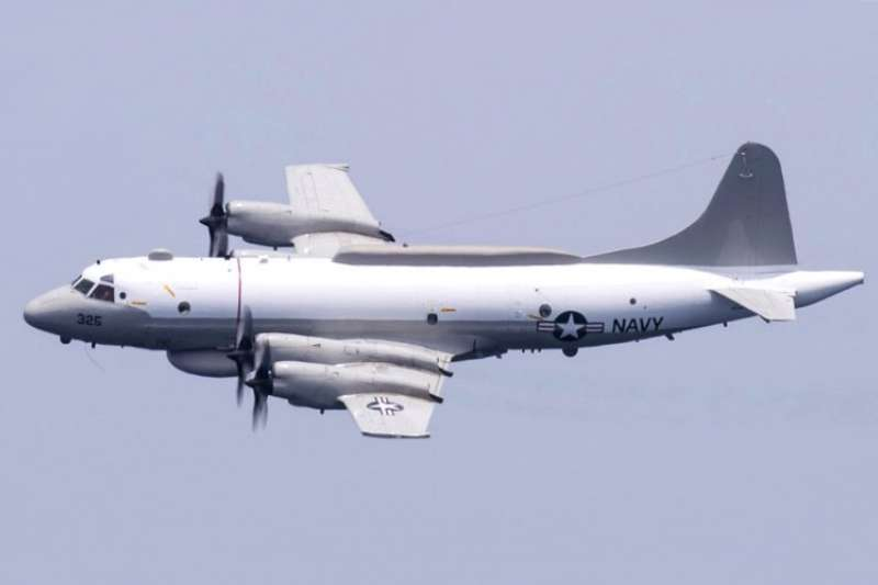 美軍EP-3E偵察機。(維基百科/公用領域)