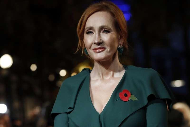 《哈里波特》作家JK 羅琳(J.K. Rowling)因為對跨性別發表評論成為取消文化(cancel culture)的受害者(AP)