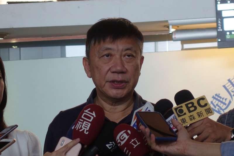台北市社會局長劉志光到職僅不到4個月,就傳出請辭消息,傳言是因劉心感在局內無實權,劉志光12日出面否認該說法。(台北市政府提供)
