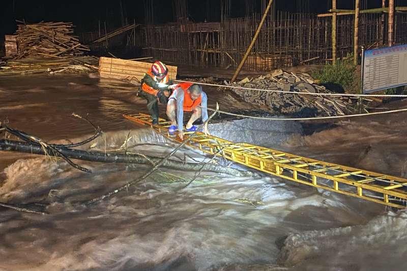 2020年7月,中國各地洪水為患(AP)