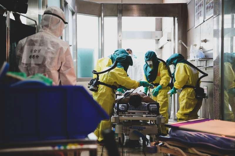 20200713-本周登場的漢光36號演習,首日將舉行「生物疫病暨軍民醫療能量整合演練」。(軍聞社提供)