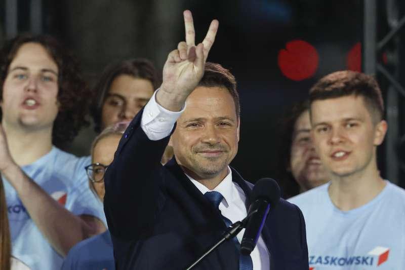 波蘭總統大選:華沙市長佐薩斯科斯基落敗(AP)