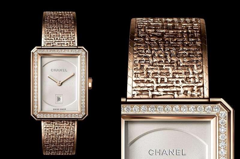 米色是Coco Chanel特別偏愛的色彩之一,啟發了她的品牌研發出帶有這種色調的合金。(圖片提供/Chanel)