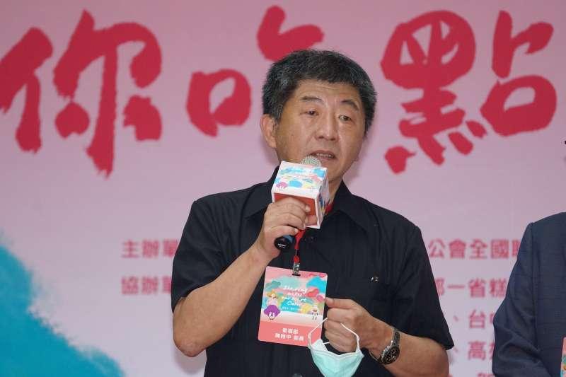 20200713-衛福部長陳時中13日出席「用點心、讓愛不隔離」記者會。(盧逸峰攝)