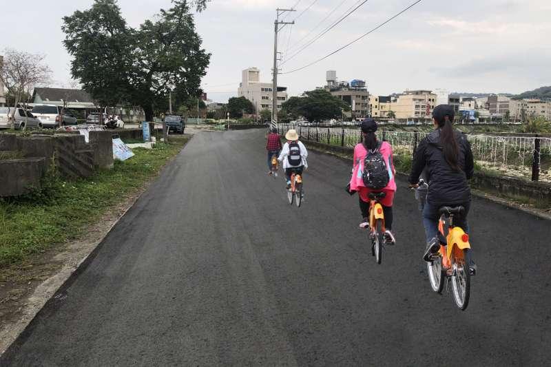 豐原大道自行車道-完工模擬圖。(圖/台中市政府提供)