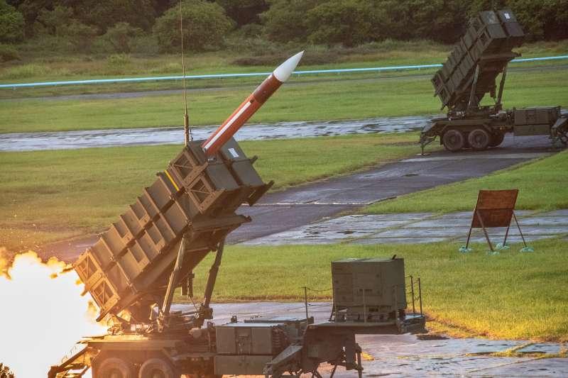 20200715-國軍漢光36號演習實兵演練15天日執行「濱海決勝」階段,實施精準彈藥實彈演習,圖為愛國者二型防空飛彈。(國防部提供)