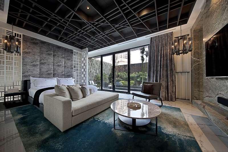 超高級Villa般享受的旅館,是疫情下無法出國的最佳去處!(圖/取自天韻旅館粉專)