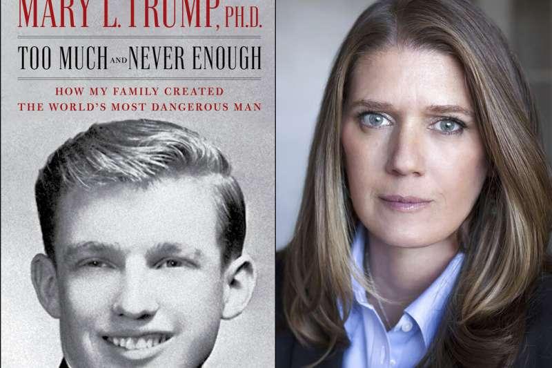 美國總統川普姪女瑪莉川普出書爆料家族與川普的黑歷史。(AP)