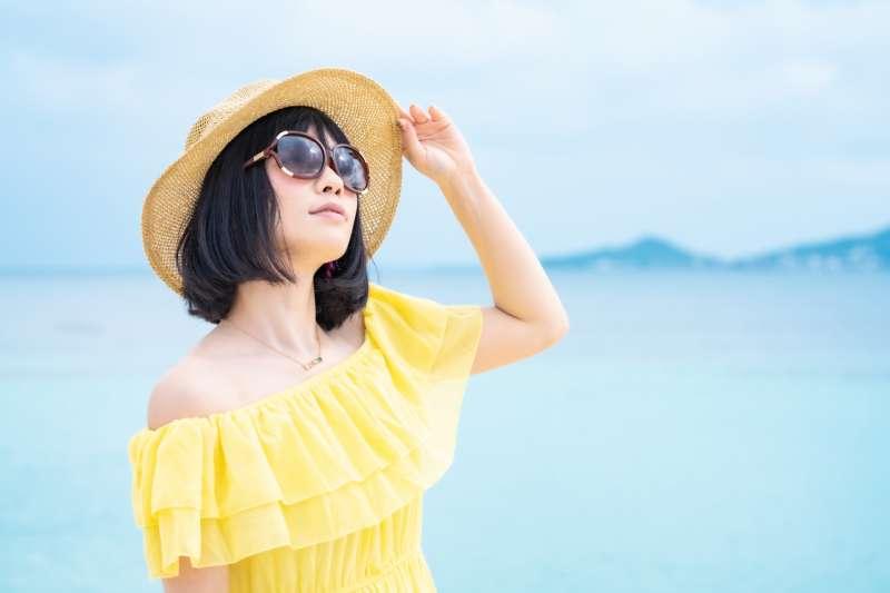 太陽眼睛的顏色怎麼選很重要,可不要為了美觀反而傷害自己的眼睛。(圖/取自PhotoAC)