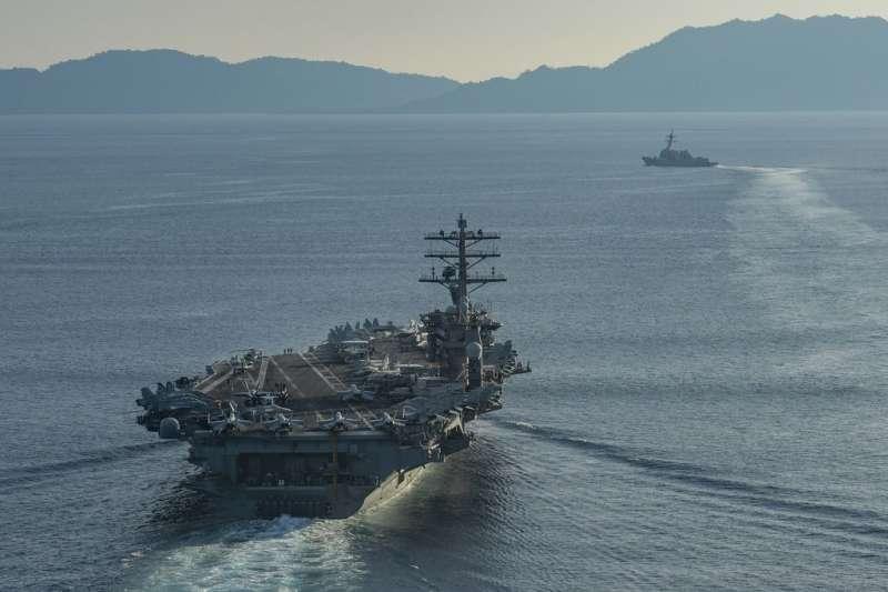 美軍核動力航空母艦「尼米茲號」(美國海軍)