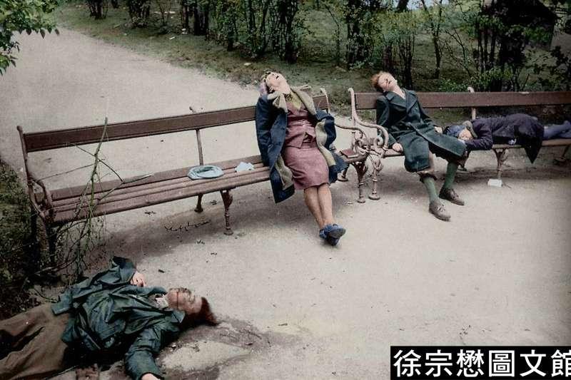 納粹政權骨幹紛紛隨著希特勒自盡,不盡然代表他們畏罪自殺,更可能是他們對於所追求的「白種亞利安至上主義」的「理想」破滅了。(圖/徐宗懋圖文館)