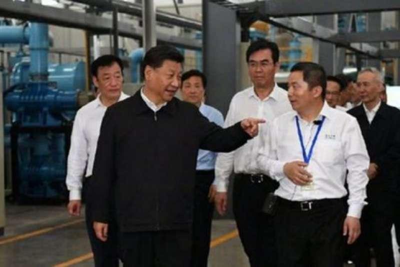 2019年習近平參觀江西的稀土企業,引發中國可能利用稀土對美國進行反制的猜測。(BBC中文網)
