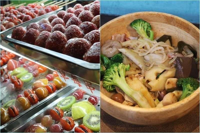 逢甲夜市是全台灣數一數二的美食聚集地,熱門店家天天都大排長龍。(圖/柯翎肇攝)