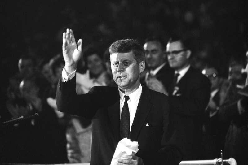 美國前總統甘迺迪曾提及,美國應在太空探險中創下一番成就,而這決定美國人在地球上未來命運的關鍵。(資料照,美聯社)