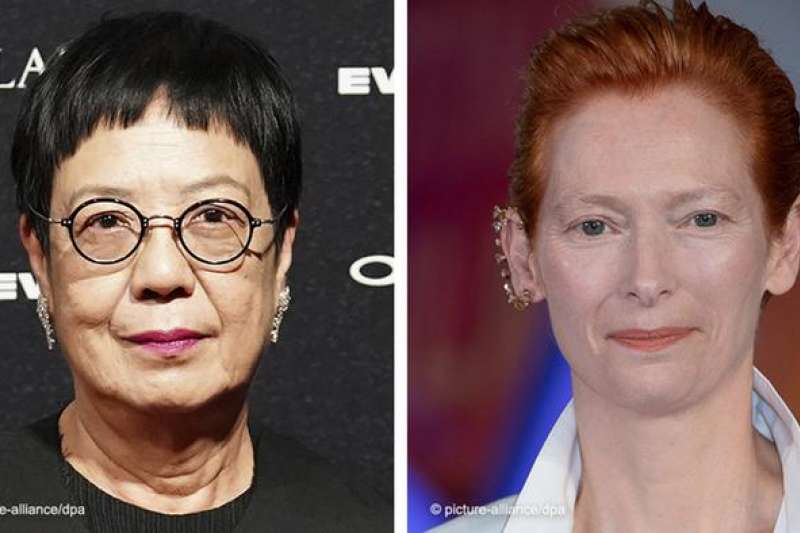 香港導演許鞍華與英國影后蒂爾達‧斯文頓(Tilda Swinton)獲得本屆「金獅終身成就獎」(德國之聲)