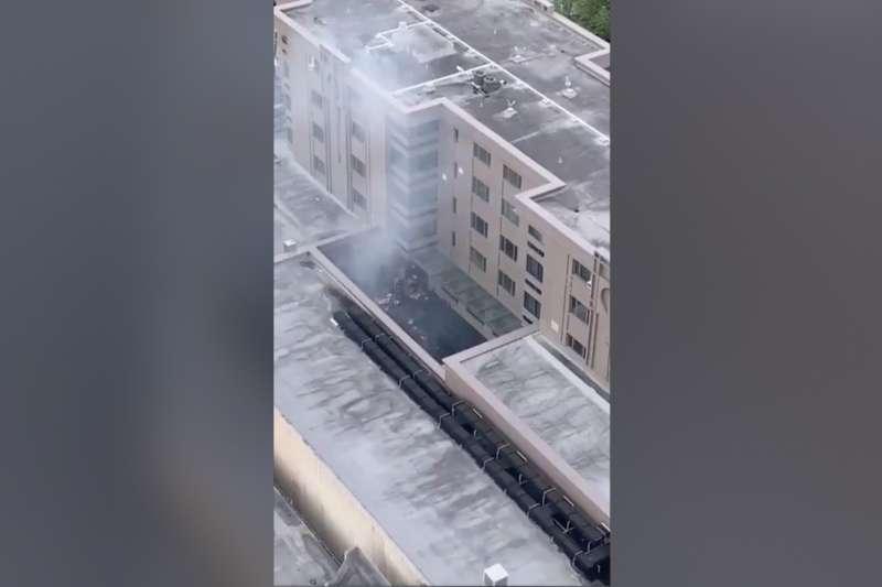 中國駐休士頓總領事館因焚燒文件引發鄰居關注報警。
