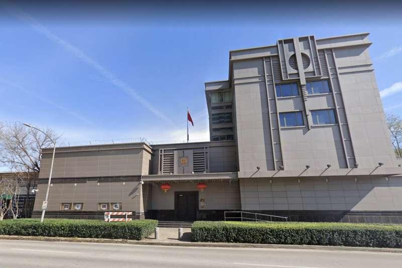 中國駐休士頓總領事館。(翻攝Google地圖)