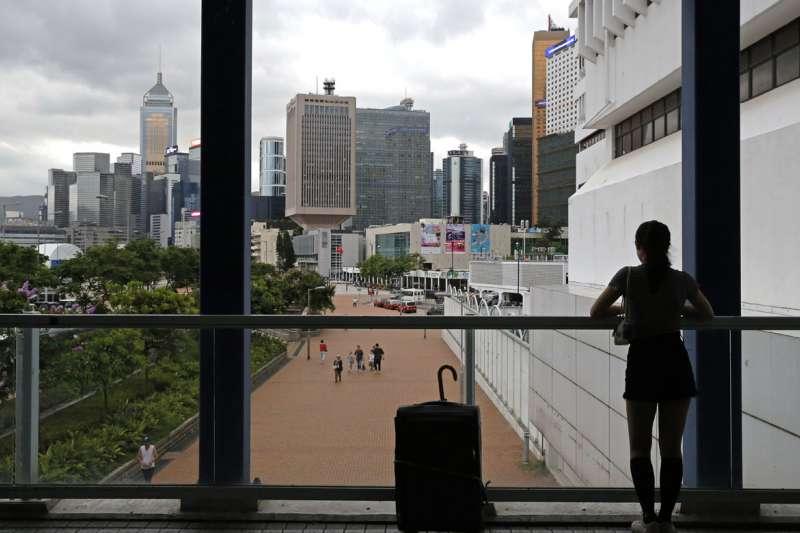 美國終止香港優惠待遇、動搖香港金融中心地位,以反制北京強推《港區國安法》。(美聯社)