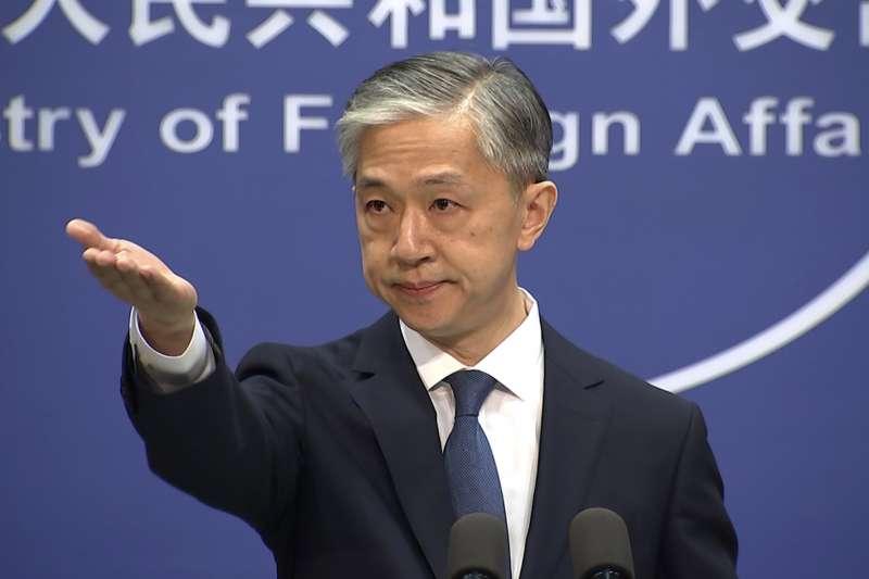 中國外交部發言人汪文斌(AP)