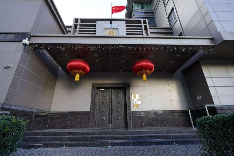 中國駐休士頓總領事館(資料照,AP)