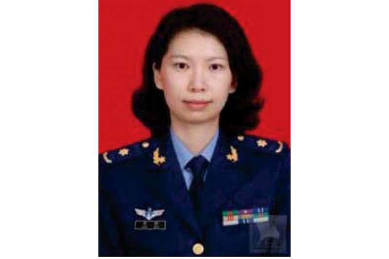 中國解放軍學者唐娟(音譯)。(AP)
