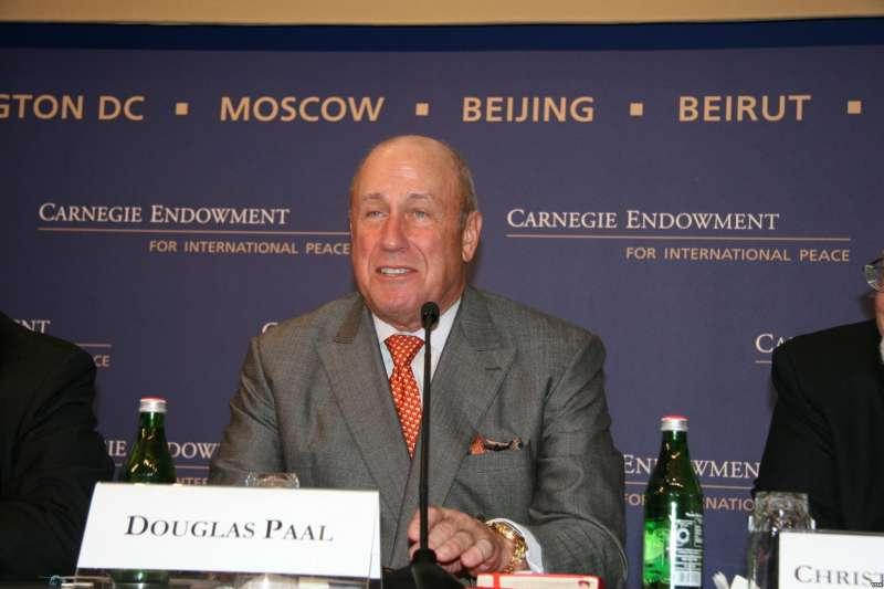 卡內基國際和平基金會副總裁包道格(Douglas Paal)(Wikipedia / Public Domain)