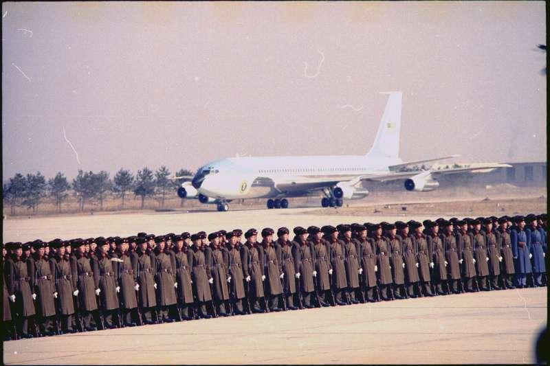 1972年2月,美國總統尼克森訪問中國首都北京(Wikipedia / Public Domain)
