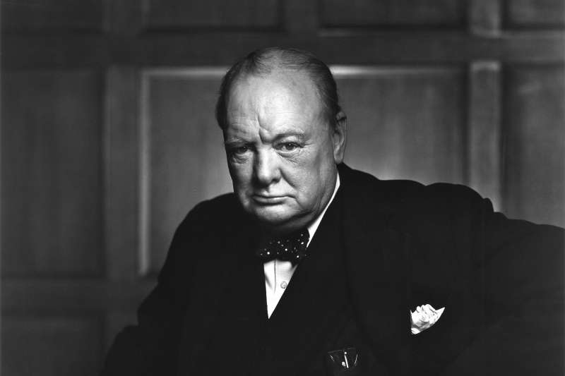 英國一代名相邱吉爾(Winston Churchill)(Wikipedia / Public Domain)
