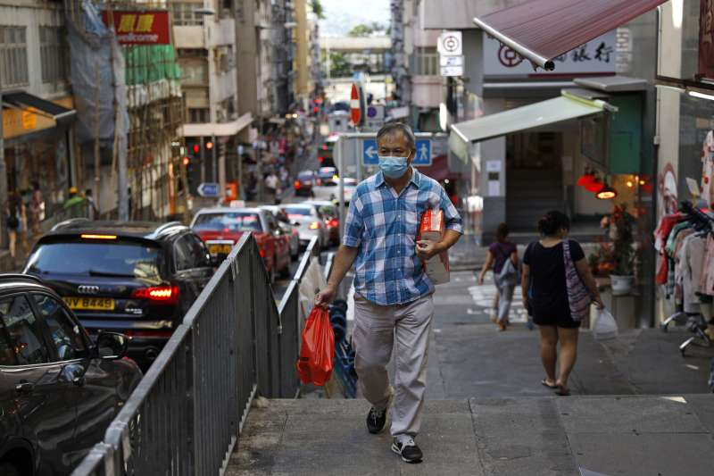 新冠肺炎:香港爆發第三波疫情(AP)