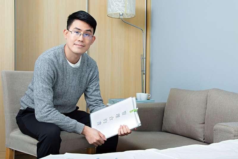71年次的楊尚諭,在學生時期就不靠任何資助,憑著自己的力量買房收租,甚至找出房地產的穩定獲利公式。(圖/money錢提供)