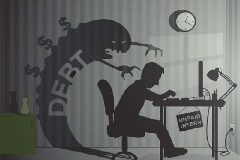 「窮人思維」的人雖然能賺到錢,但卻無法獲得自由而成為了奴隸。(取自www.pbs_.org)