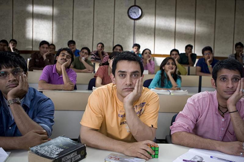 「印度良心」阿米爾罕(Aamir Khan)因《三個傻瓜》等多部寶萊塢大片爆紅後,還誓言當導演翻轉印度!(圖/取自IMDb)