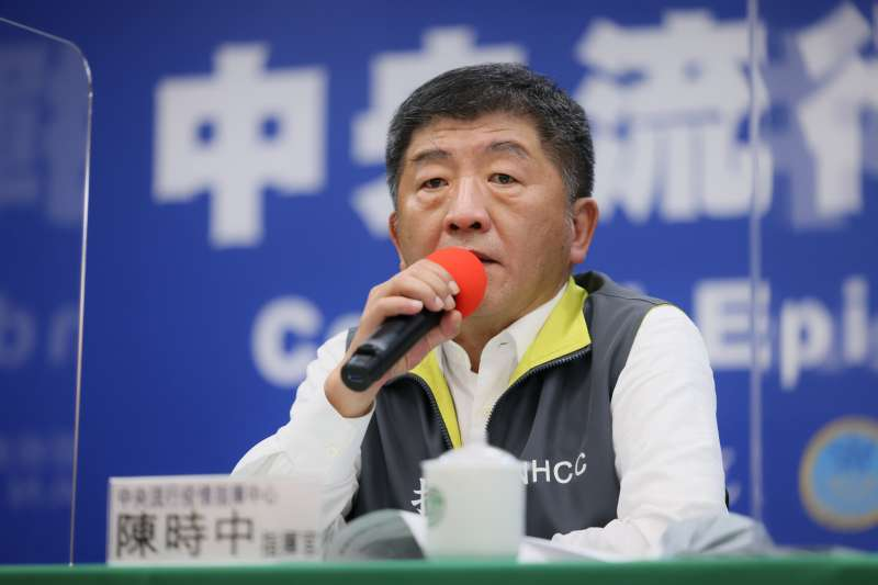 對於近日自己網路好感度創新低,衛福部長陳時中不以為意表示,「我又不是來當明星」。(資料照,指揮中心提供)