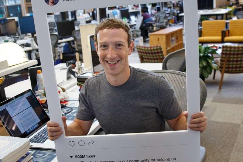 Facebook創辦人 Mark Zuckerberg慶祝 Instagram用戶突破5億人。(圖片來源:Mark Zuckerberg臉書)