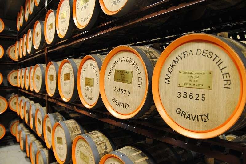 橡木桶對威士忌風味的影響可高達60%。(圖/作者提供)