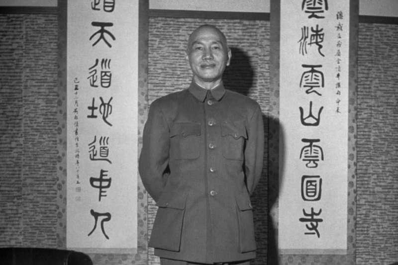 20200730-蔣中正攝於臺灣,1950年1月。(維基百科)