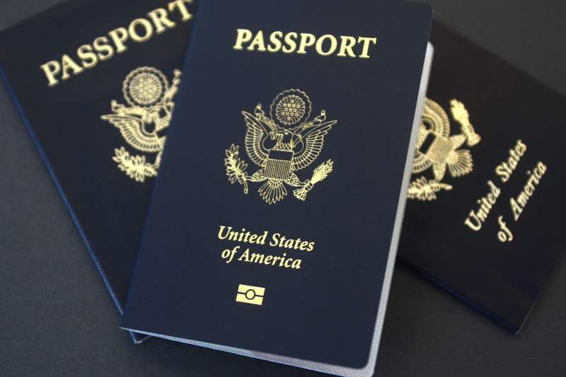 美國護照(資料照,AP)
