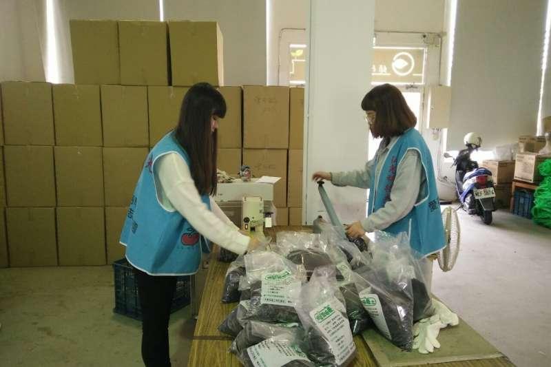 圖為地方政府環保局提出的「回收學園」學生服務學習計畫。(圖/台中市政府提供)