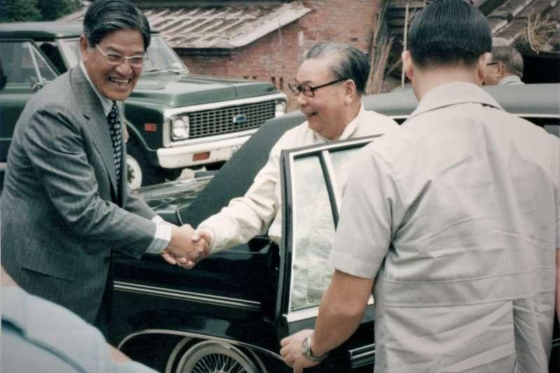 1979年9月,蔣經國前往三芝李登輝老家作客。(作者提供,圖片來源為史丹佛大學胡佛檔案館)