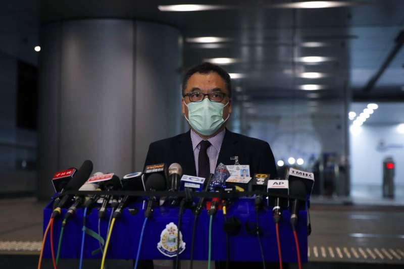 香港國家安全處高級警司李桂華。(AP)